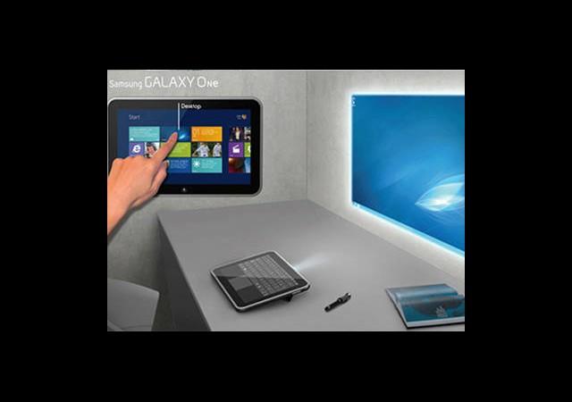 Hem Projeksiyon Hem Tablet