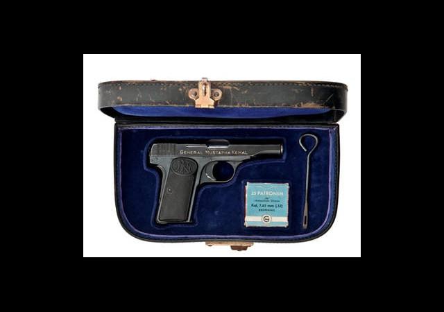 Atatürk İçin Üretilen Silah Satıldı