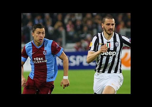 Trabzonspor Avrupa'ya veda etti...