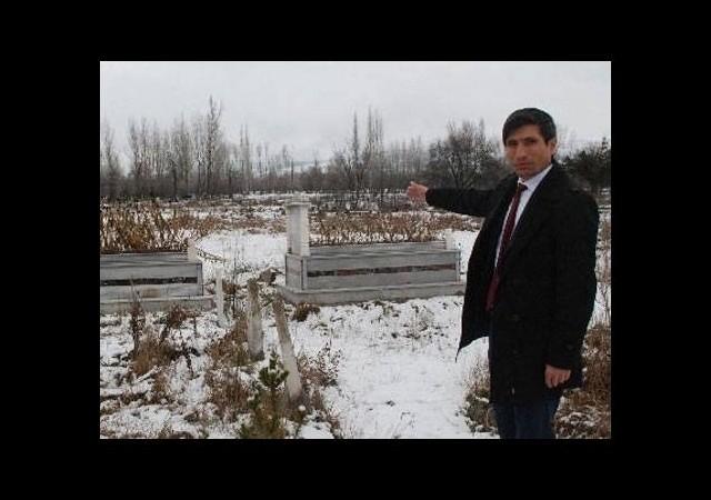 Tokat'ta mezarlığa haciz konuldu!