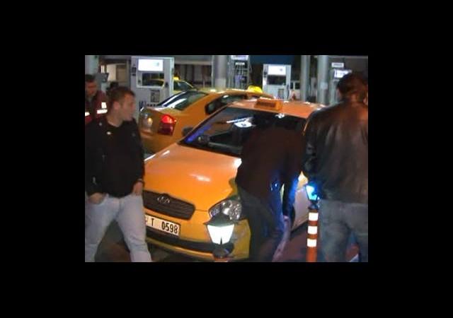 Taksicilere Silahlı Saldırı!