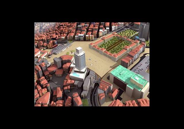 Taksim'de Büyük İnşaat Başlıyor
