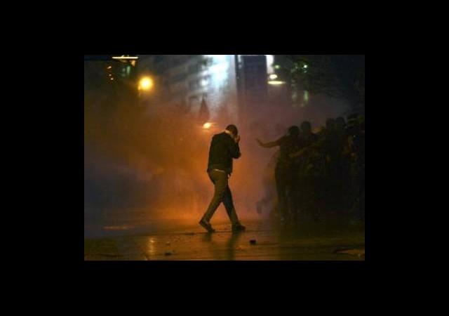 Taksim'deki Müdahale Yurtta Protesto Edildi