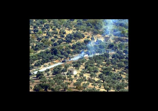 Suriye Tankları Derkuş'ta