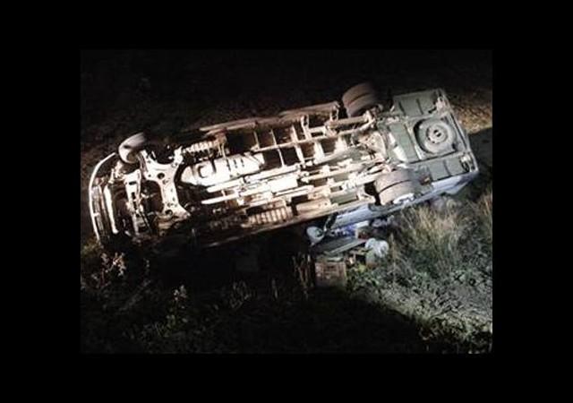 Tarım İşçileri Kaza Yaptı: 25 Yaralı