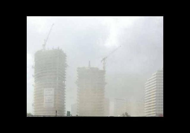 İstanbul'un üzerinden toz fırtınası geçti