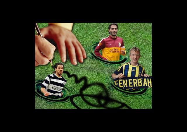 İşte Süper Lig'in yeni Transferleri