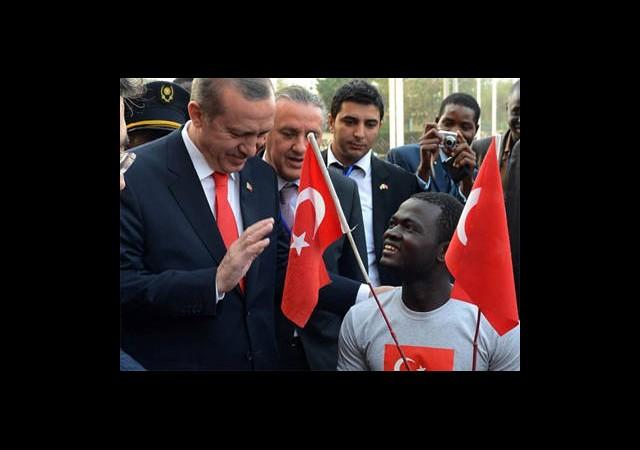 Erdoğan'dan Nijerli Gence Akülü Araba