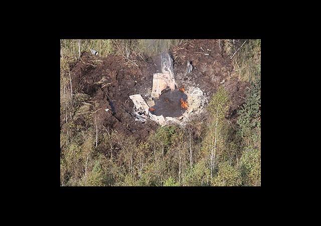 Belçika'da Helikopter ABD'de Uçak Düştü
