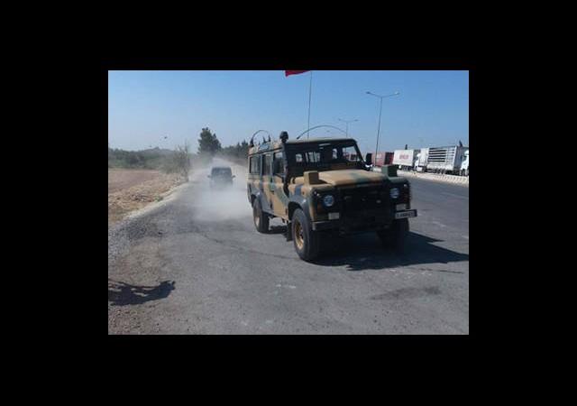 Askeri Heyet Suriye Sınırında İnceleme Yaptı