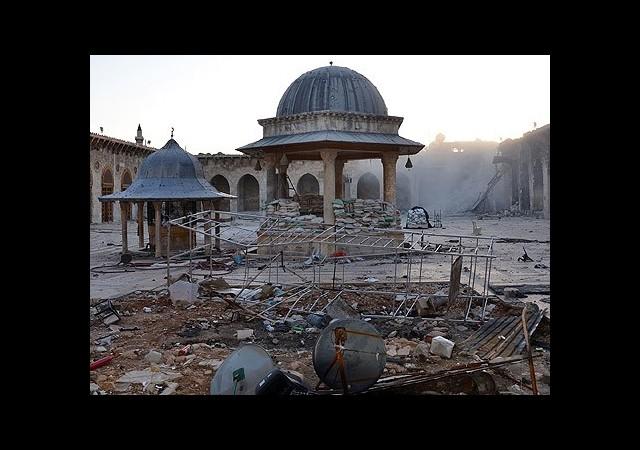 Bombalar Kültür Mirasını da Yok Ediyor