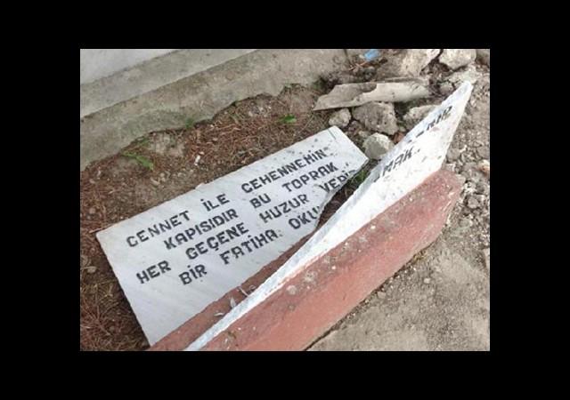 Mezarlıkta Çirkin Provokasyon