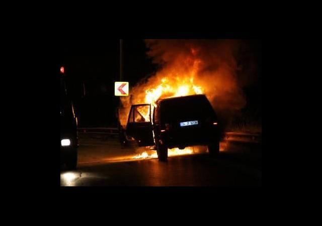 İstanbul'da Şok! Alev Topuna Döndü