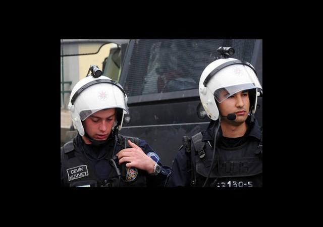 Polise Kameralı Kask