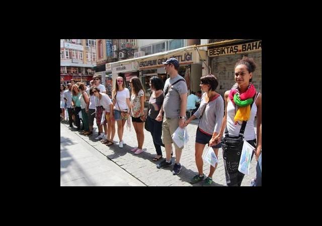 İstanbul'da Barış Zinciri Eylemleri