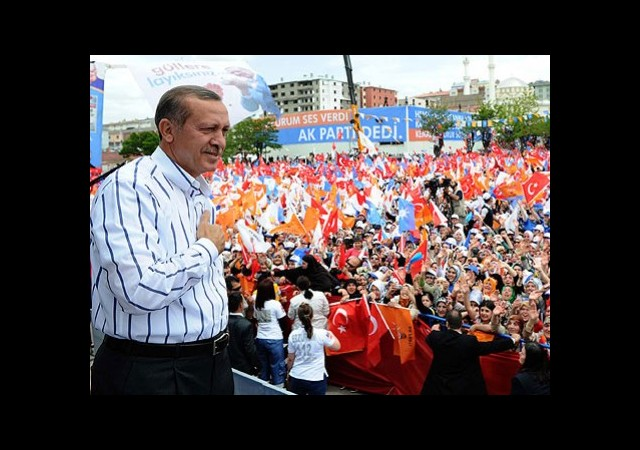 AK Parti'de 'Seçim' Toplantısı