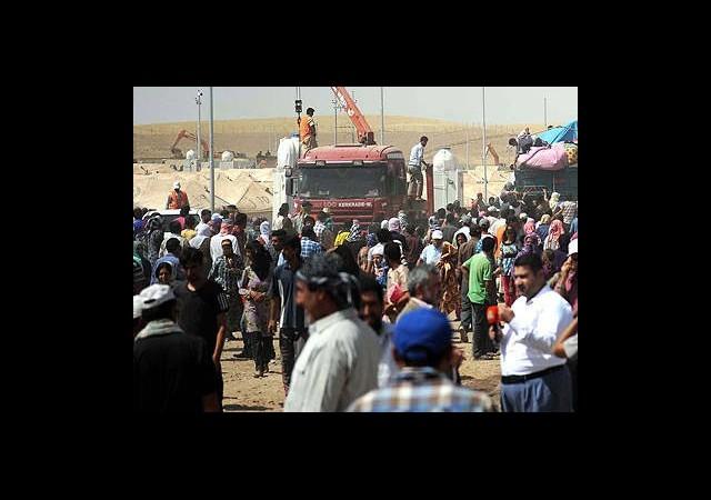 Suriye'den Kaçanların Sayısı 2 Milyonu Geçti