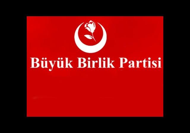 BBP Partilerle İttifak Yapmayacak