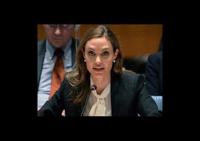 Angelina Jolie'den Suriye Yorumu