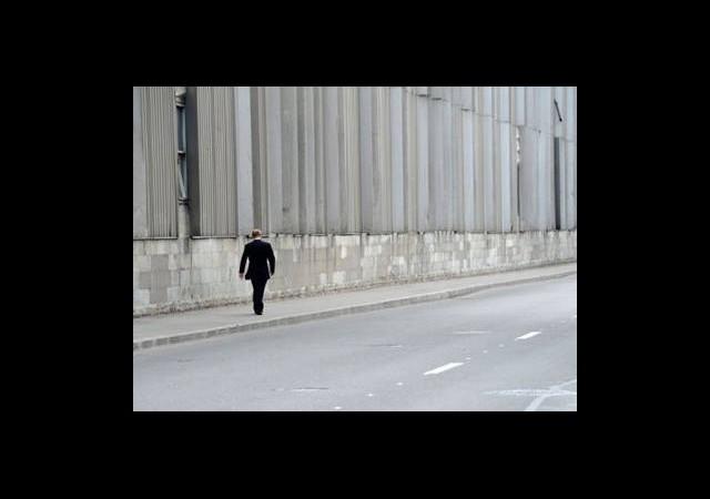 Putin Sokakta Tek Başına!
