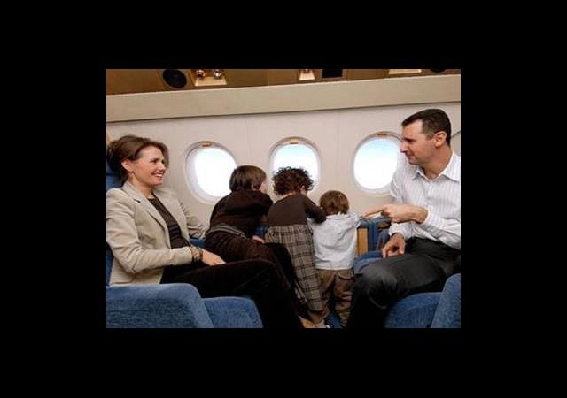 Esad Ailesiyle Tahran'a Kaçtı!