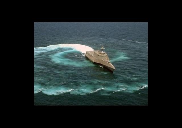 ABD Donanması Akdeniz'de Konuşlandı
