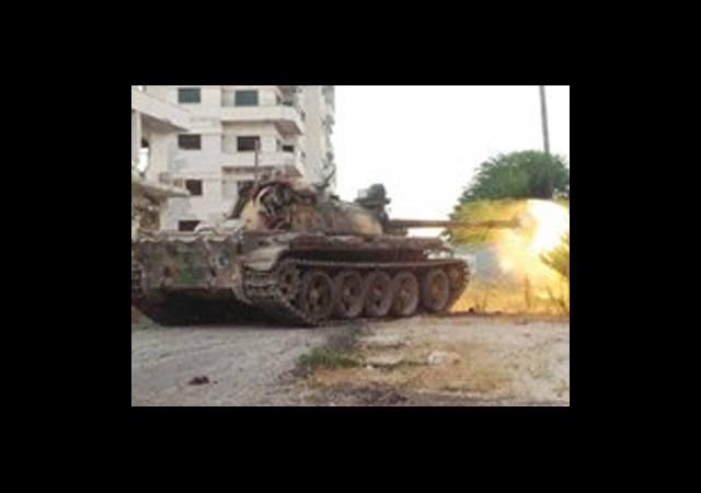 Cihatçılar Tanklarla Cezaevini Bastı!