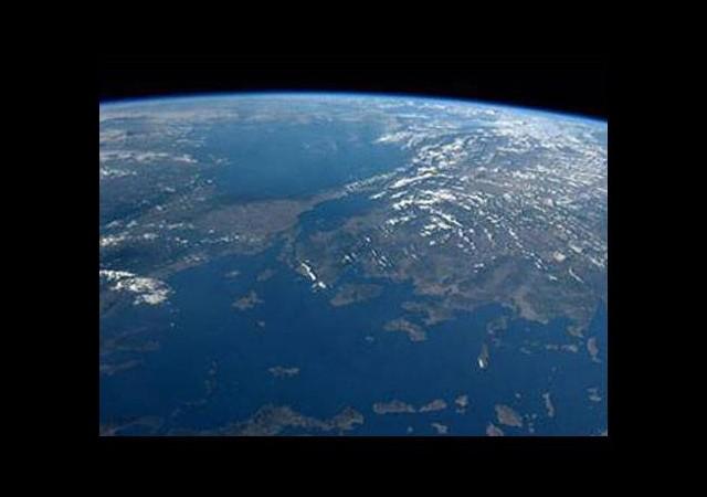 'Uzay'dan harika Türkiye manzarası'