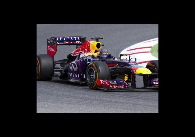 Almanya Grand Prix'si Vettel'in