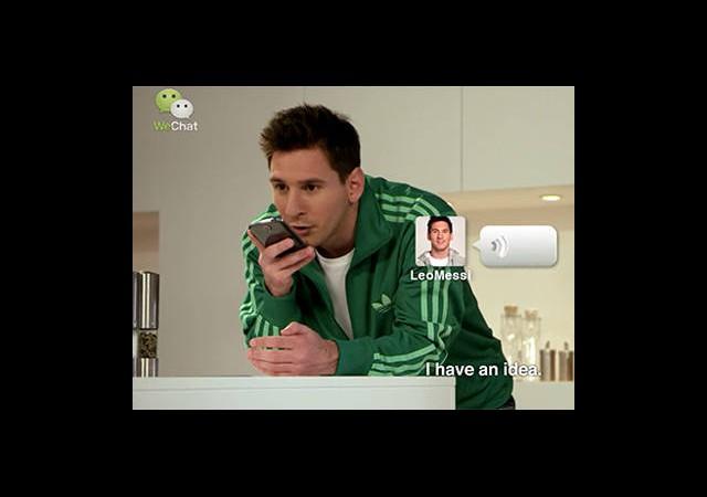 Messi WeChat'te