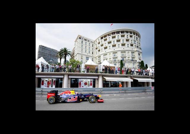 Monaco'da İlk Cep Webber'in