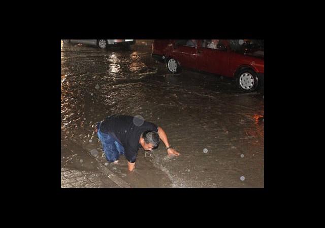 Şiddetli Yağış Etkili Oldu