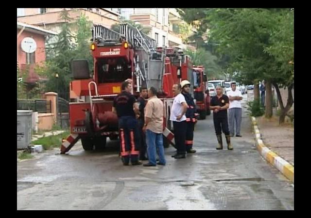 Maltepe'de Yangın Paniği