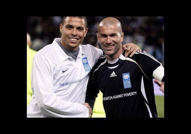 Zidane ve Ronaldo'dan alkışlık proje!