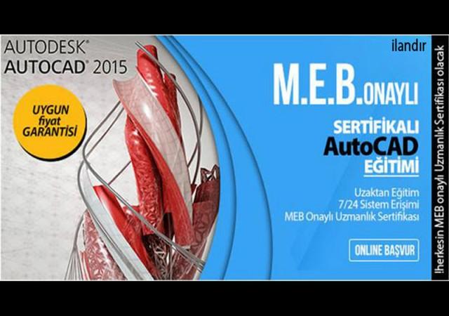 MEB Onaylı Autocad Sertifikası