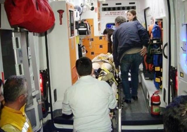 Trenin altında kalan kadının bacağı koptu