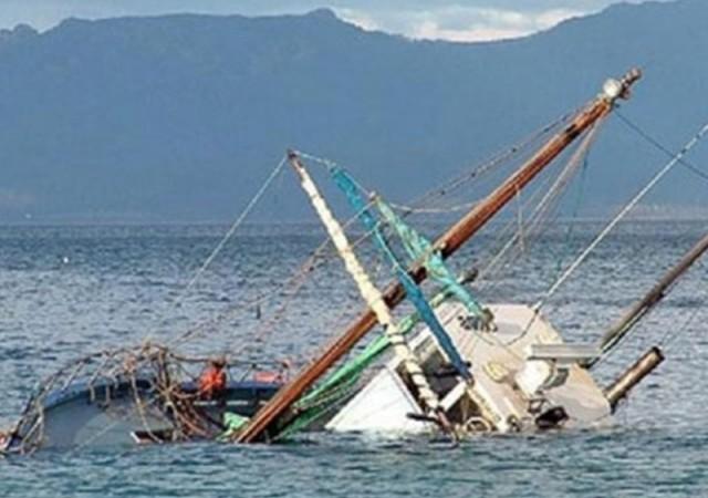 Bodrum'da tekne battı!
