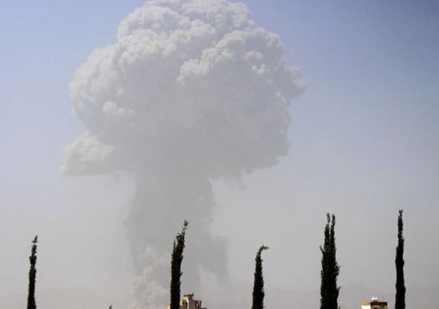 Büyükelçilik binasına bombalı saldırı
