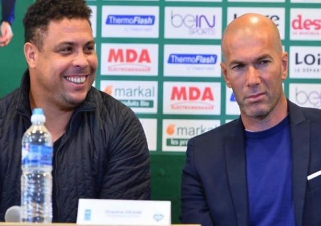 Ronaldo ve Zidane'dan mücadele çağrısı