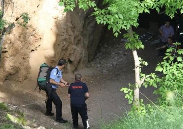 55 metre derinliğe gömüldü!