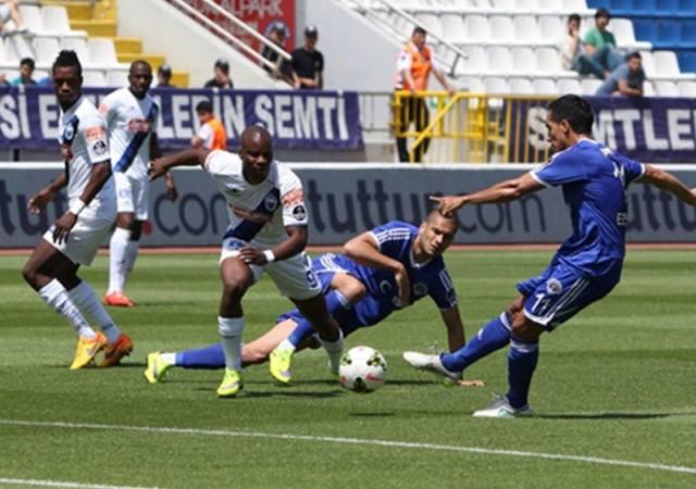 Kasımpaşa ve Erciyes'ten gol düellosu