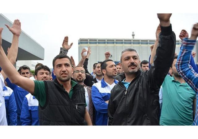 Renault işçilerinin eylemi sona erdi