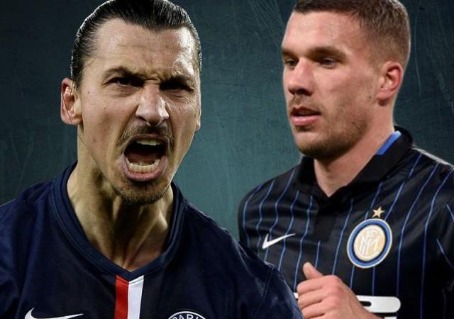 Sürpriz Podolski ve Ibrahimovic açıklaması!