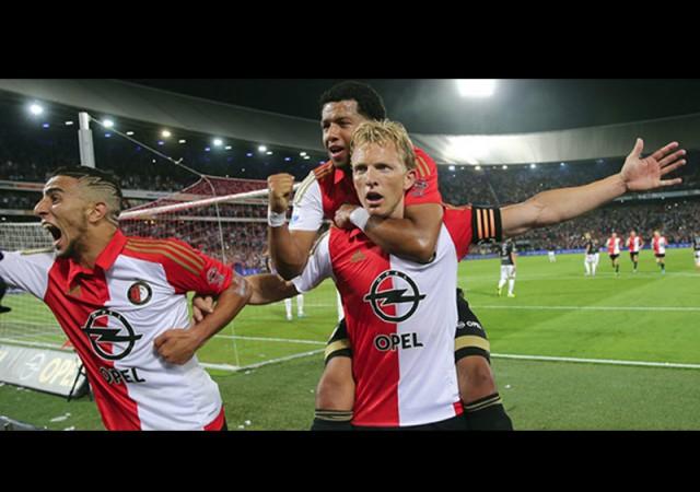 Kuyt ve Kazım attı, Feyenoord kazandı!