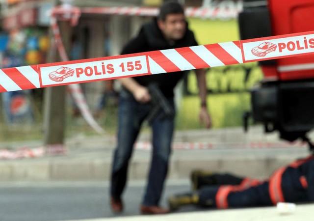 Polis noktasına ateş açıldı