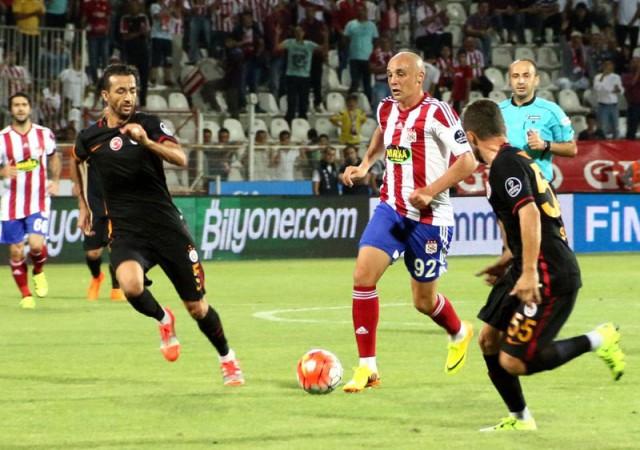 Medicana Sivasspor-Galatasaray Spor Toto Süper Lig Maç Özeti