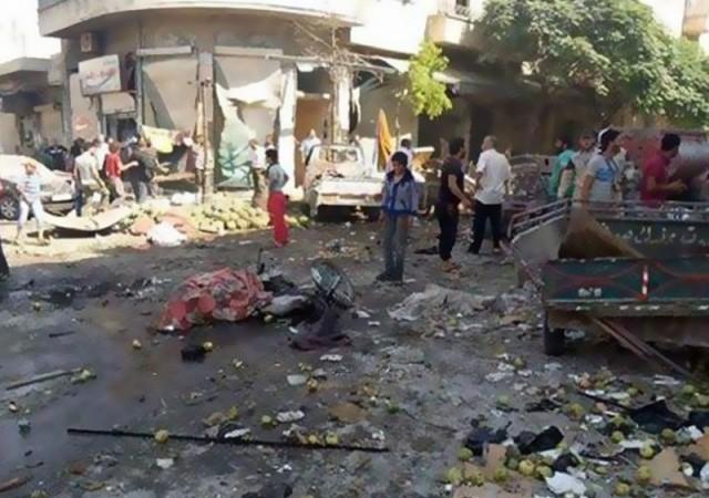 Suriye'de yine aynı katliam!