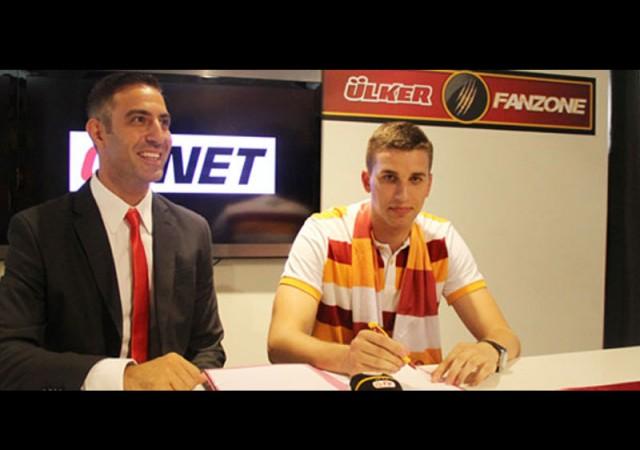 Milan Katic Galatasaray'da!