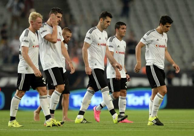 Beşiktaş'ın Olimpiyat'ta yüzü gülmüyor