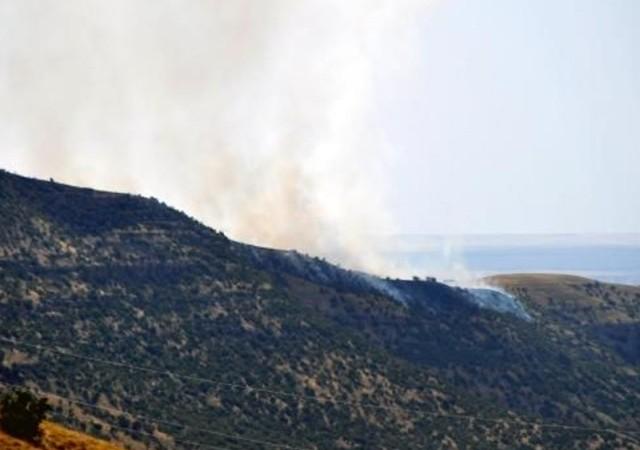 Sınırdan sızmaya çalışan PKK'lılara bomba yağdı